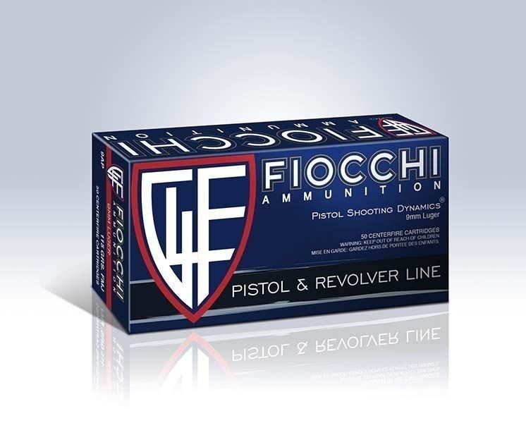 Fiocchi 9mm 124gr FMJTC 50rd box